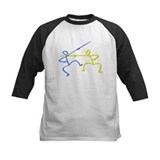 Stick figure fencing  T