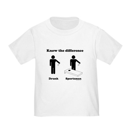 Drunk or Sportsman Toddler T-Shirt