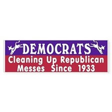 Democrats Bumper Bumper Sticker