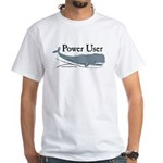 Power Moby-Dick White T-Shirt