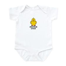 Anaheim Chick Infant Bodysuit