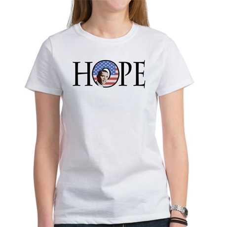 Obama Patriotic Hope Women's T-Shirt