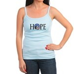 Obama Patriotic Hope Jr. Spaghetti Tank