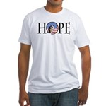 Obama Patriotic Hope Fitted T-Shirt