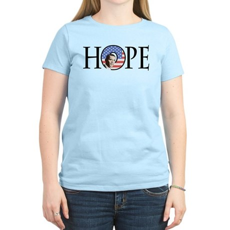 Obama Patriotic Hope Women's Light T-Shirt