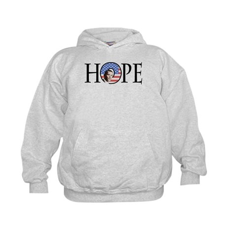 Obama Patriotic Hope Kids Hoodie