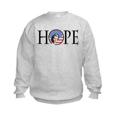Obama Patriotic Hope Kids Sweatshirt
