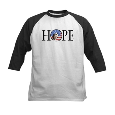 Obama Patriotic Hope Kids Baseball Jersey