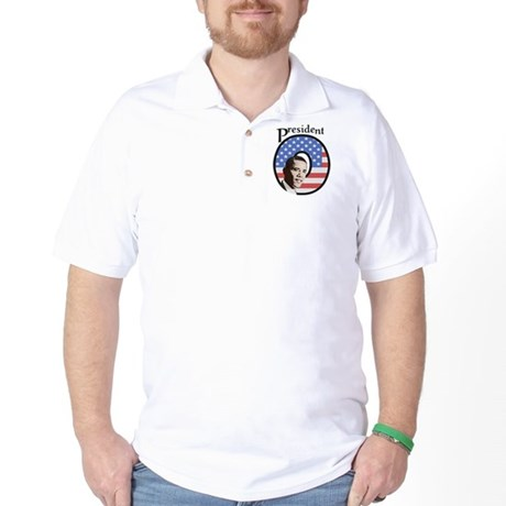 President O Patriotic Golf Shirt