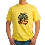 President O Patriotic Yellow T-Shirt