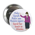 Help Sarah Palin See Russia Again Button