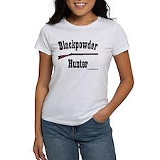 Blackpowder Hunter Women's White T-Shirt