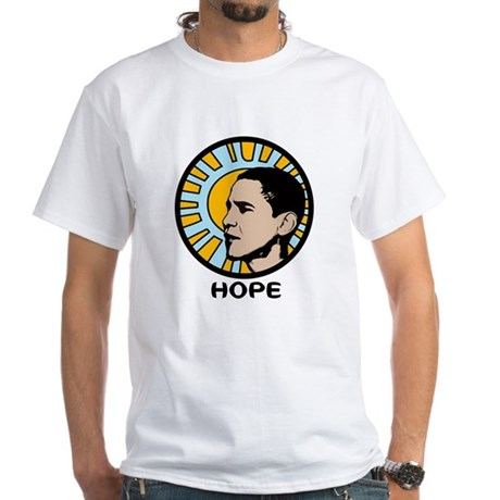 Obama Sun Hope White T-Shirt