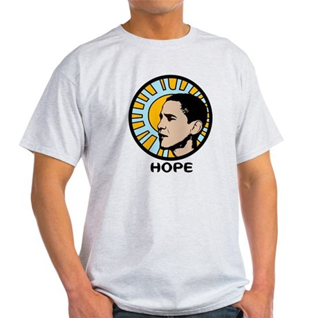 Obama Sun Hope Light T-Shirt