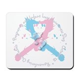 Pregnancy and Infant Loss Awa Mousepad