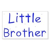 Little Brother Rectangle Decal