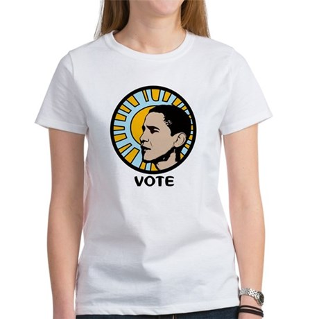 Obama Sun Vote Women's T-Shirt