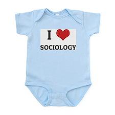 I Love Sociology Infant Creeper