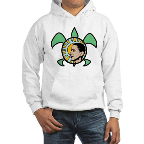 Obama Sun Sea Turtle Hooded Sweatshirt