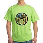 Obama 08 Green T-Shirt