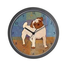 Pug Moment Wall Clock
