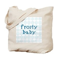 Frosty Baby Tote Bag