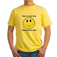 Have a nice day - Somewhere else T