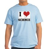I Love Science Ash Grey T-Shirt