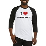 I Love Psychology Baseball Jersey