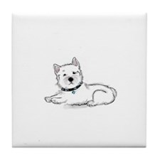 West Highland Terrier Tile Coaster