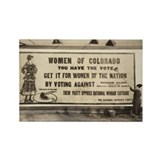 Votes for Women Suffrage Rectangle Magnet