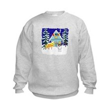 Santas Place Sheltie Sweatshirt
