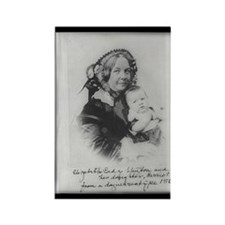 Elizabeth Cady Stanton Rectangle Magnet