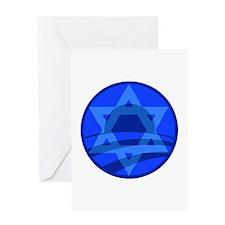 Jewish for Obama Logo Greeting Card