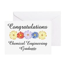 Chemical Engineer Grad Greeting Card