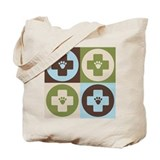Veterinary Medicine Pop Art Tote Bag