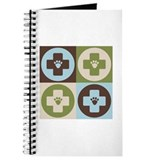Veterinary Medicine Pop Art Journal