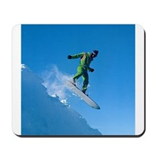 Cute Snowboarder Mousepad