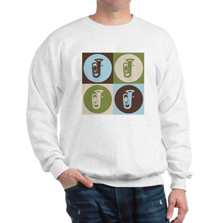 Tuba Pop Art Sweatshirt