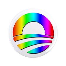 "Wavy Gravy Obama Logo 3.5"" Button (100 pack)"