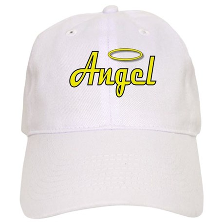 Soft Golden Angel Wings on back Cap
