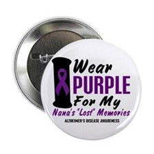 "Nana's Lost Memories 2 2.25"" Button (10 pack)"