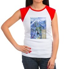 Cute Skiing fan Tee
