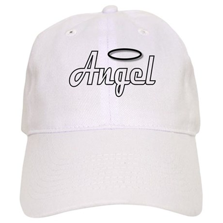 Goth Angel Wings on back Cap