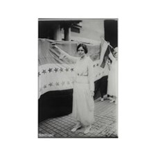 Suffrage Hero Alice Paul Rectangle Magnet