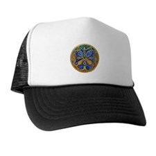 Armenian Tree of Life Cross Mandala Trucker Hat