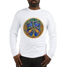 Armenian Tree of Life Cross Long Sleeve T-Shirt