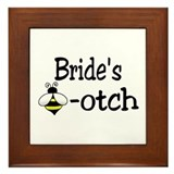 Bride's Beeotch Framed Tile