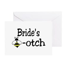 Bride's Beeotch Greeting Card