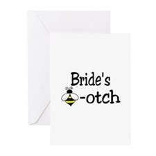 Bride's Beeotch Greeting Cards (Pk of 20)